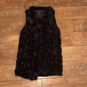French Laundry Faux Fur Vest